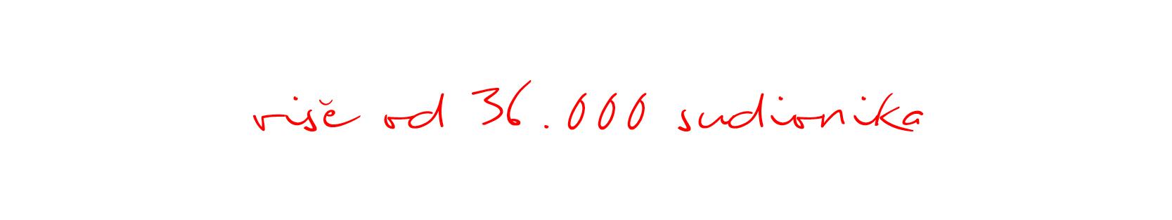 Više od 36000 sudionika
